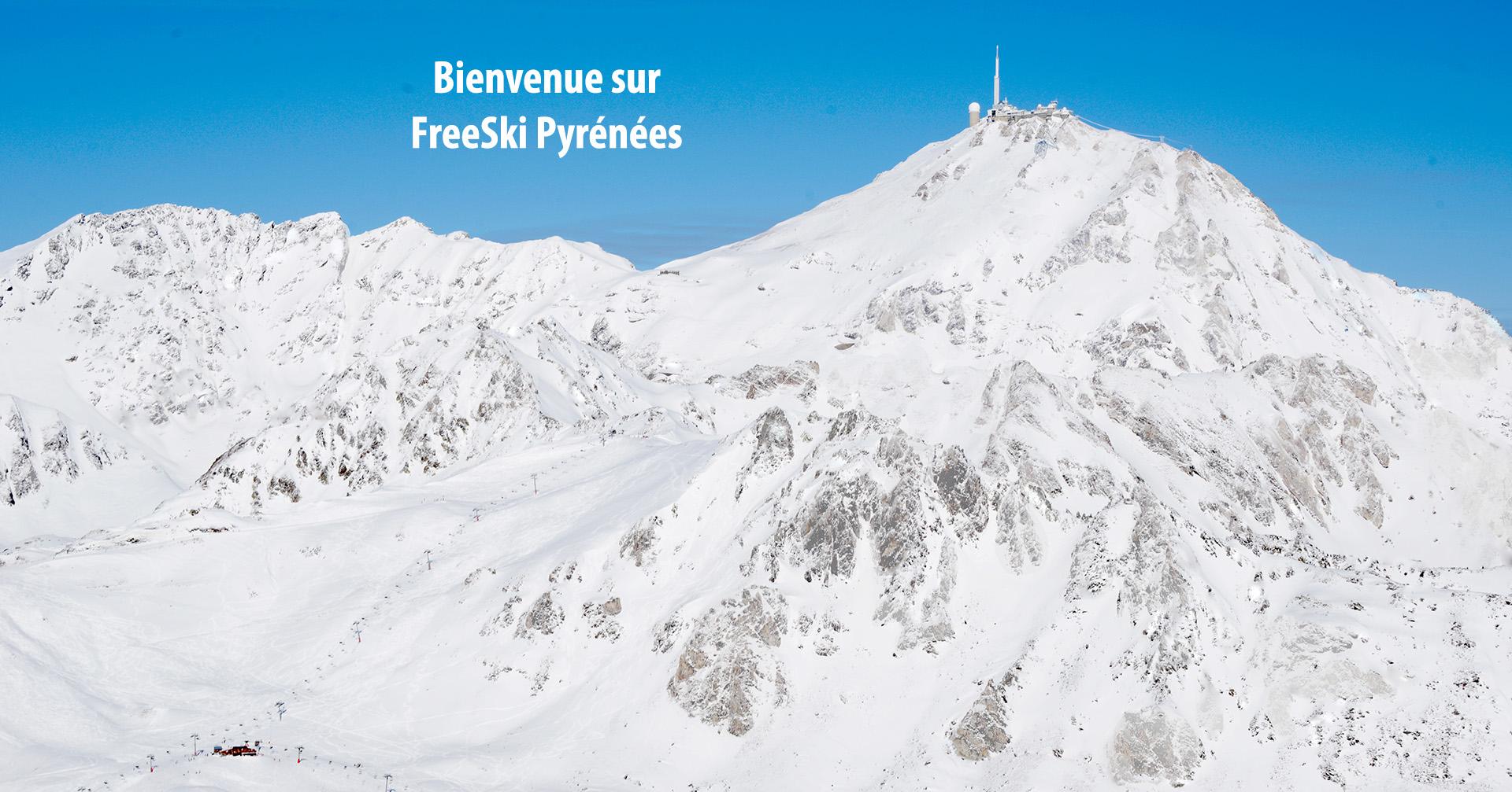 Bienvenue sur Freeski Pyrénées